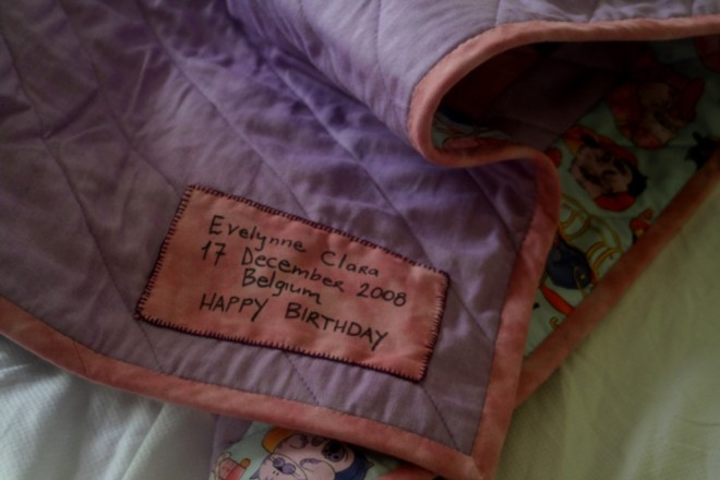 Evelynne's quilt 2
