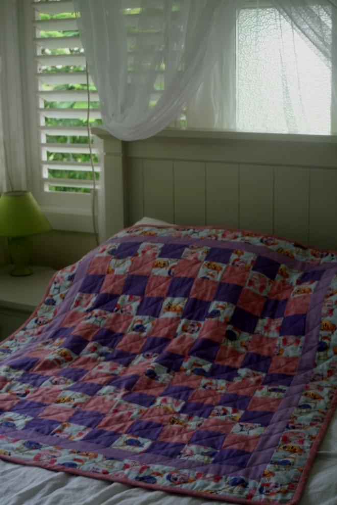 Evelynne's quilt 1